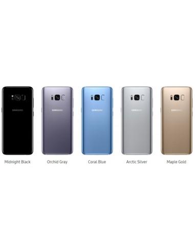 Tapa Samsung S8 con Lente Cámara