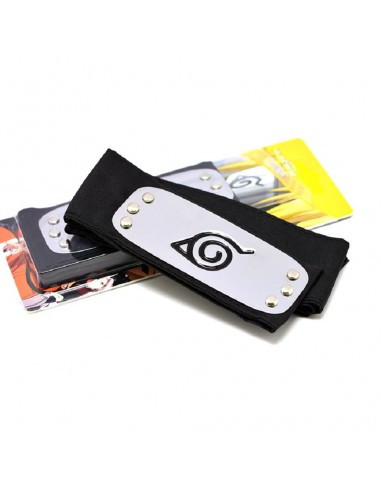 Bandana Naruto Accesorio Cosplay