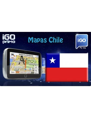 Mapa de Chile para iGO en GPS Chino